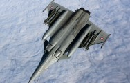 Rafale from C-160R (January 2010)